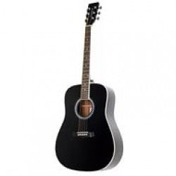 Rockdale SDN-BK Dreadnought Black
